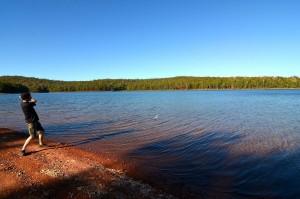 Honey moon lake