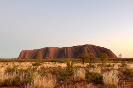 Sunrise on Uluru