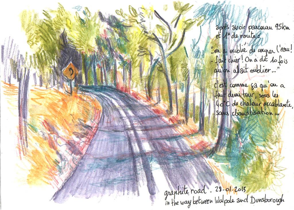 graphite road